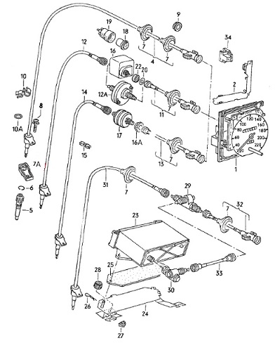 1954 Ford Customline Wiring Diagram For Car as well 020 Speedo Cable To Gearbox Seal 171957861b 4991 P moreover Vw Thing Transmission as well  on vw beetle transmission identification code